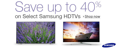 Samsung HDTV Save Up 40%