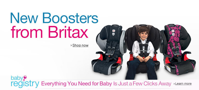 New Britax Booster Car Seats