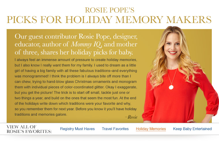 Rosie's Holiday Favorites