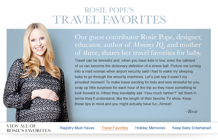Rosie's Travel Favorites