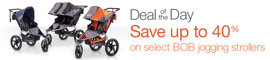 Save up to 40% on BOB jogging.