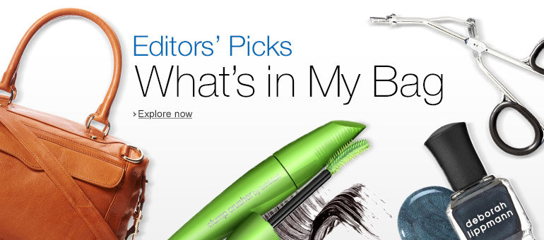 What's in My Bag Editors' Picks