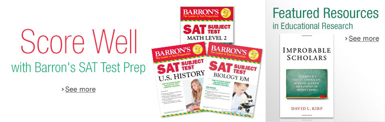Barron's SAT & Educational Resources