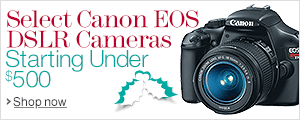 Canon EOS Starting Under $500