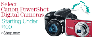 Canon PowerShots Starting Under $100
