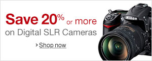 20% Off or More on Digital SLRs