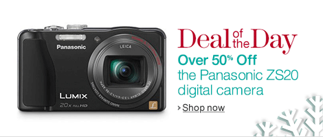 Deal of the Day: Panasonic LUMIX ZS20 Digital Camera