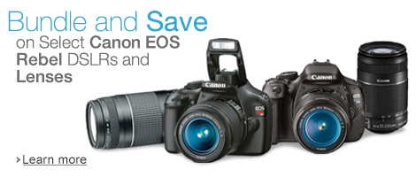 Canon EOS Rebel Digital SLR Cameras Bundles