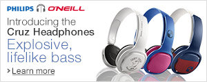 Philips O'Neill Cruz Headphones