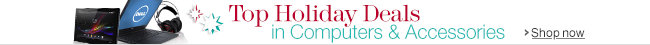 Top Holiday Deals Deals Week in Computers & Accessories