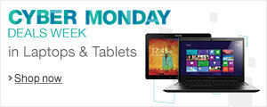 Cyber Monday Deals Week in Laptops & Tablets