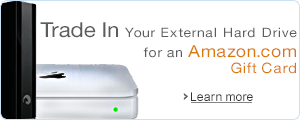 Trade In Your External Hard Drive for an Amazon Card
