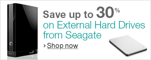 External Hard Drives by Seagate