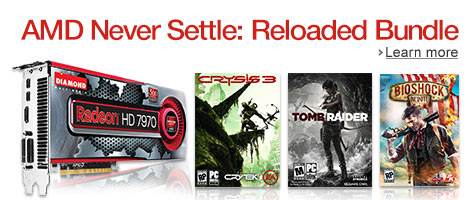 AMD Never Settle: Reloaded Bundle