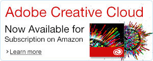 Adobe Creative Cloud Now Available for Subscription on Amazon