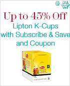 Up to 45% Off Lipton K-Cups