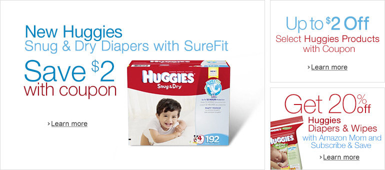 Huggies Economy Plus Diapers and Wipes