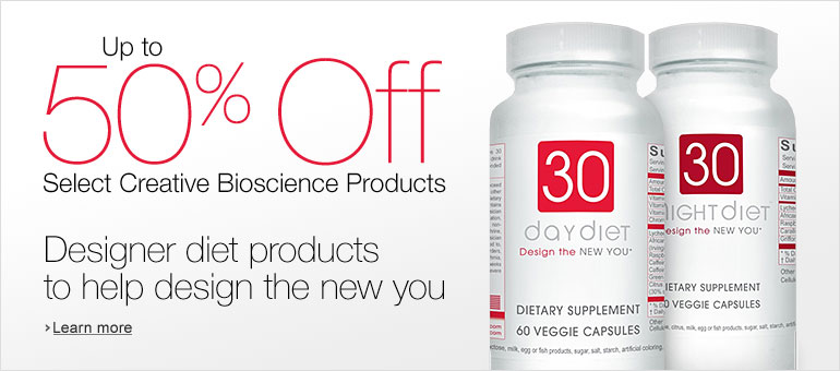 Up to 50% Off Select Creative Bioscience Products