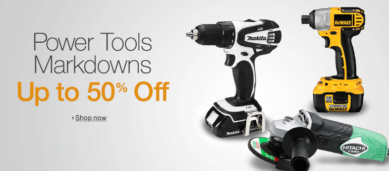 Power Tools Markdowns