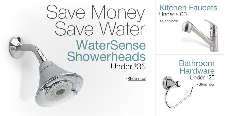 WaterSense Showerheads under $35