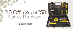 $10 Off a Select $50 Stanley Order