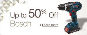 Up to 50% Off Bosch