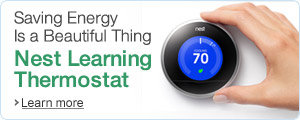 Saving Energy is A Beautiful Thing-Nest the Learning Thermostat