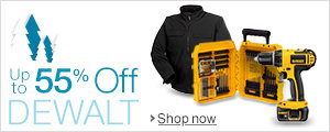Up to 55% Off DEWALT
