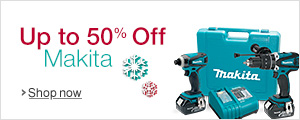 Up to 50% Off Makita