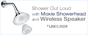 Shower Out Loud with Moxie Showerhead and Wireless Speaker
