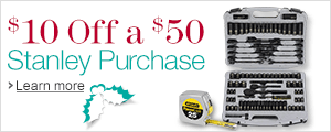 $10 Off a $50 Stanley Purchase