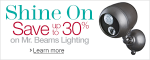 Up to 30% Off Mr. Beams Lighting