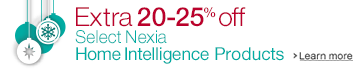 Extra 20-25% Off Select Nexia Home Intelligence Products