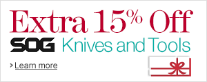 15% Off SOG Knives and Tools