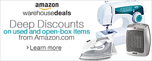 Deep Discounts on Home Items Amazon Warehouse Deals