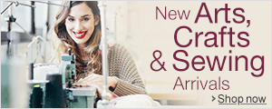 New Arrivals in Arts, Crafts & Sewing