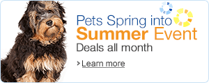 Summer Deals on pet supplies