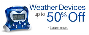 Take Winter by Storm with Weather Devices