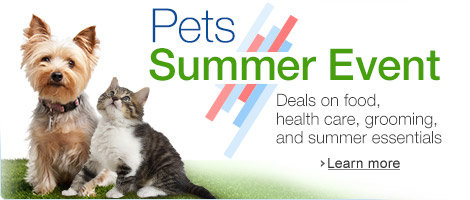 Summer Pet Event with Pet Supplies Deals All Month