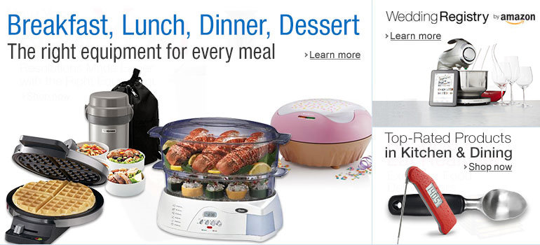 The Right Equipment for Every Meal