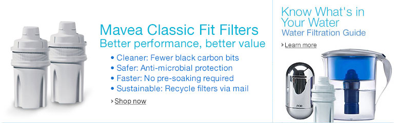 Mavea Classic Fit Water Filters