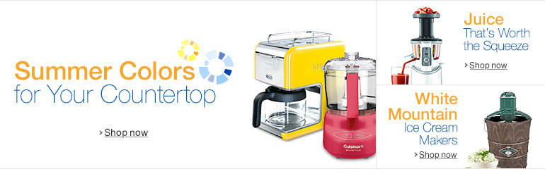Get Ready for Summer in Small Appliances