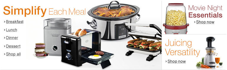 Simplify Each Meal in Small Appliances