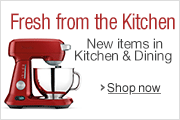 Fresh from the Kitchen: New Items in Kitchen & Dining