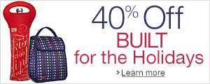 40% Off BUILT Wine, Baby, and Lunch products