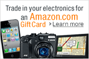Trade In Your Electronics for an Amazon.com Giftcard