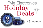 Pyle Electronics Holiday 2013