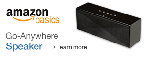 AmazonBasics Portable Wireless Speaker