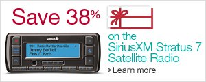 Save 38% on the SiriusXM Stratus 7 Satellite Radio