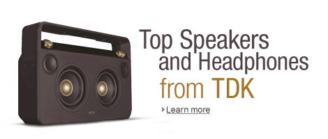 Top Speakers and Headphones from TDK